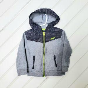 OSHKOSH Hooded Zip up Waterproof Hood